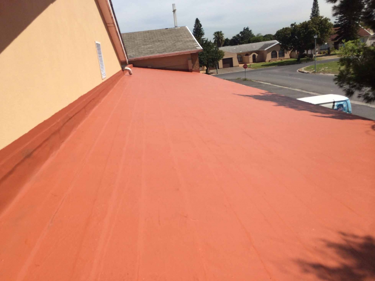 Roof Cleaning and Painting - HBC Waterproofing